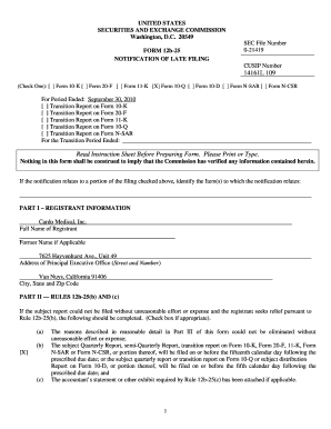 Fillable Online sec (Check One): Form 10-K Form 20-F Form 11-K X ...