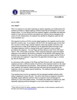letter requesting reimbursement