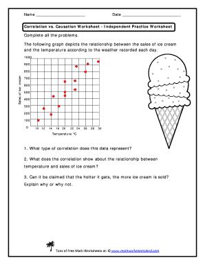 correlation worksheet worksheets for school mindgearlabs. Black Bedroom Furniture Sets. Home Design Ideas
