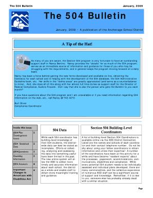 504 plan for anxiety - Editable, Fillable & Printable ...