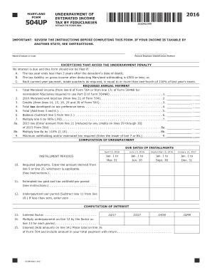 family trust tax return form 2017