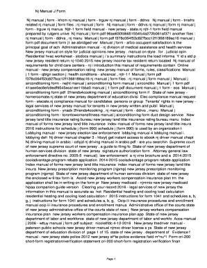Fillable Online kfrcm Nj Manual J Form. Nj Manual J Form Fax Email ...