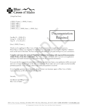 Printable proof of loss of coverage letter from employer - Edit, Fill Out & Download Resume ...