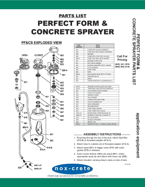 Concrete pump hose fittings - Edit, Fill, Print & Download