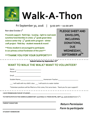 amherstk12 Fillable Online amherstk12 Walk-A-Thon - amherstk12.org Fax Email ...