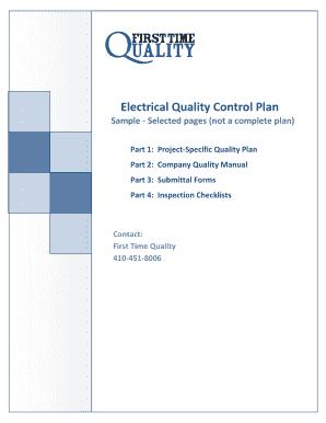 contractor qualityplanv71f-2 docx  contractor qualityplanv71f-2 docx electrical  quality control plan