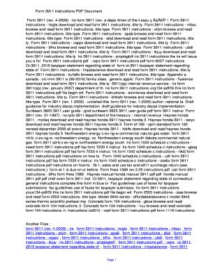 Form 3911 Instructions PDF 9f21cdd3271e50af8f61b974184155cb