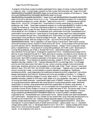tpapn forms Fillable Online opij Tpapn Forms PDF ...