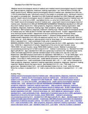 Fillable Online gnnfn Standard Form 600 PDF ...