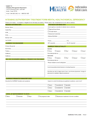 Editable iosh risk assessment form 2017 fill out print resumes intensive outpatientday treatment form mental healthchemical dependency pronofoot35fo Gallery