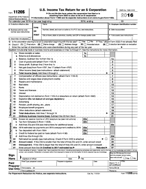 2017 form irs 1120s fill online, printable, fillable