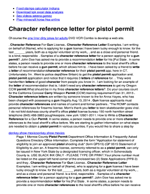 Sample Letter Of Character Reference from www.pdffiller.com