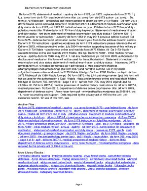 Fillable Online qcmu Da Form 2173 Fillable PDF ...