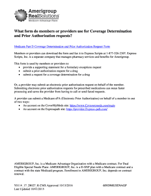 Submit express scripts prior authorization form medicare