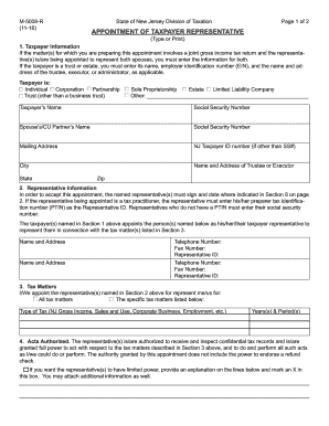 2016 Form NJ DoT M-5008-R Fill Online, Printable, Fillable, Blank ...