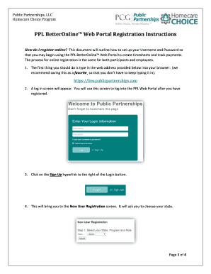betteronline ppl web portal