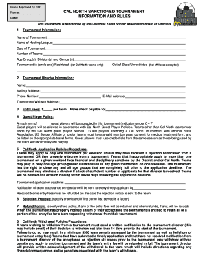 INFORMATION AND RULES DOCUMENT FORM 2605: