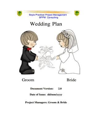 wedding reception program sample - Edit Online, Fill Out ...