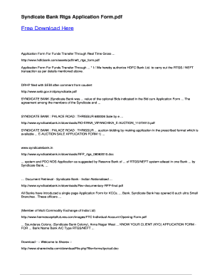 pnb rtgs form format pdf download