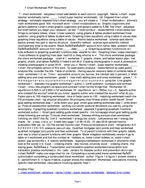 t chart graphic organizer microsoft word Edit Fill Print