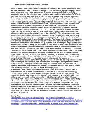 photo relating to Alphabet Chart Printable Pdf identify Fillable On-line iigu Blank Alphabet Chart Printable PDF