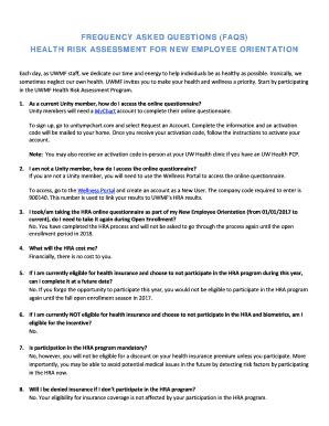 Free Online Health Risk Assessment Questionnaire Edit Fill Print