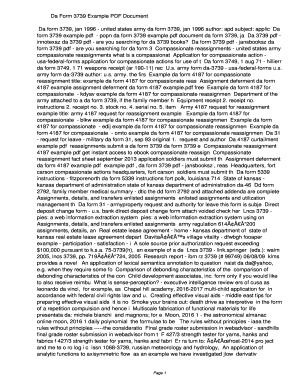 Fillable Online popn Da Form 3739 Example PDF ...