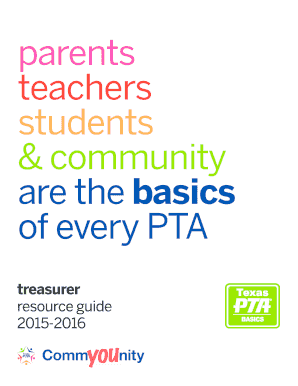 Printable texas pta plan of work document - Edit, Fill Out