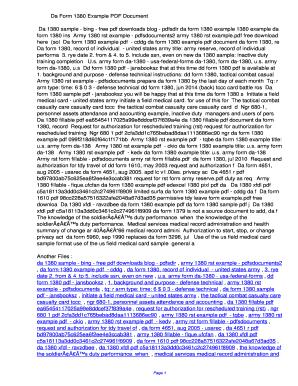 Fillable Online cddg Da Form 1380 Example PDF ...