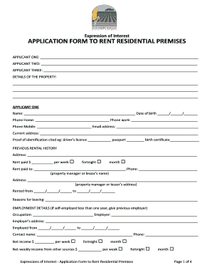 image relating to Printable Rental Application Forms identify Printable condo program sort sa - Edit, Fill Out