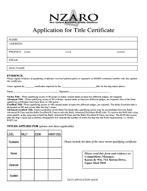 Editable sere 100 certificate template - Fill, Print & Download Law