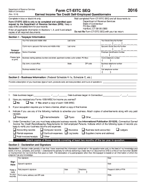 1099 form ct  8 Form CT DRS CT-EITC SEQ Fill Online, Printable ...