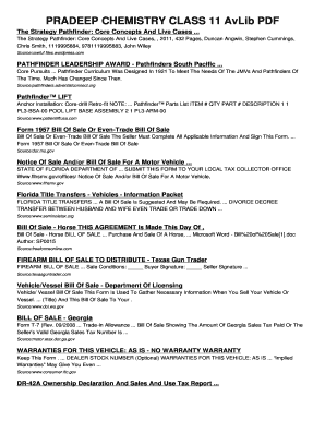 Pradeep Chemistry Class 11 Pdf - Fill Online, Printable, Fillable