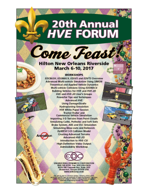 HVE Forum Workshop Descriptions - edccorp.com