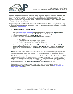 Nc buyers agency agreement fill out online forms templates a guide to nc electronic vendor portal nc e procurement platinumwayz