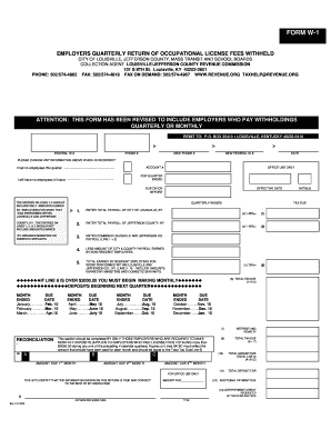 Fillable Online BLANK W1 Form.doc Fax Email Print - PDFfiller