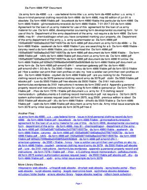 Fillable Online edme Da Form 4886 PDF ...
