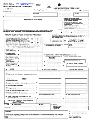 Fillable Online FORM 01-922 Fax Email Print - PDFfiller