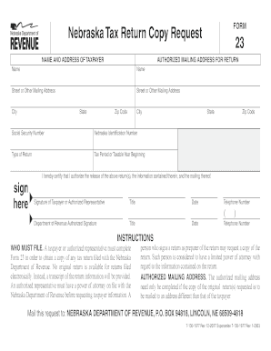 Fillable Online Form 23.indd Fax Email Print - PDFfiller on bank account online, social security online, tax preparation online, tax extension online, california tax online, birth certificate online, tax class online, tax examples,