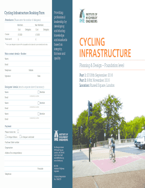 CYCLING INFRASTRUCTURE - theihe.org