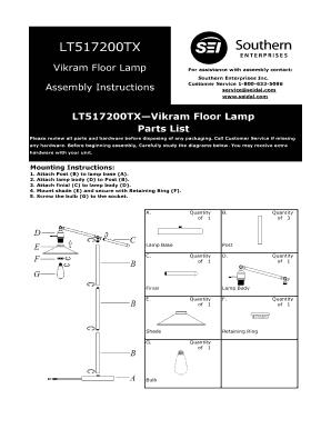 Fillable Online LT517200TX - pdf lowes com Fax Email Print - PDFfiller