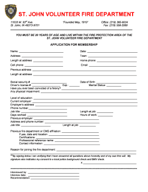 397060940 Volunteer Fire Department Application Forms on volunteer library application, volunteer fire company, fire department job application, volunteer fire recruit,