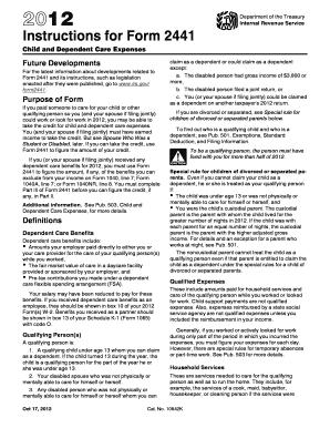 partnership tax return instructions 2012