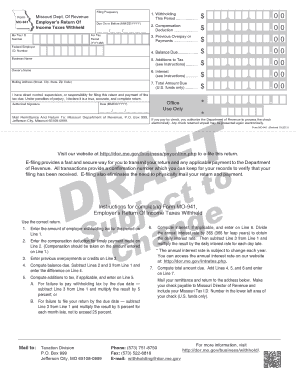 Fillable Online MO-11 Fax Email Print - PDFfiller