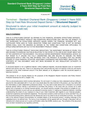 objectives of standard chartered bank