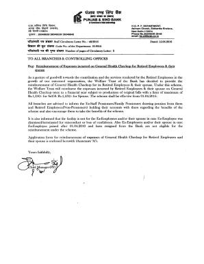 reimbursement letter to employee - Edit, Fill, Print