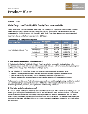 wells fargo funds availability - Edit Online, Fill Out