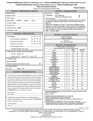 Printable anthem emergency room policy to Submit in PDF ...