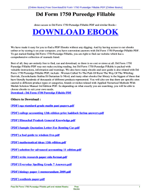 Fillable Online skt48 hol PDF DOWNLOAD PDF DD FORM 1750 PUREEDGE ...