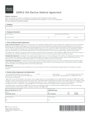Schwab simple ira forms fill out online download printable return it to your employer with your completed schwab ira account application if you spiritdancerdesigns Choice Image